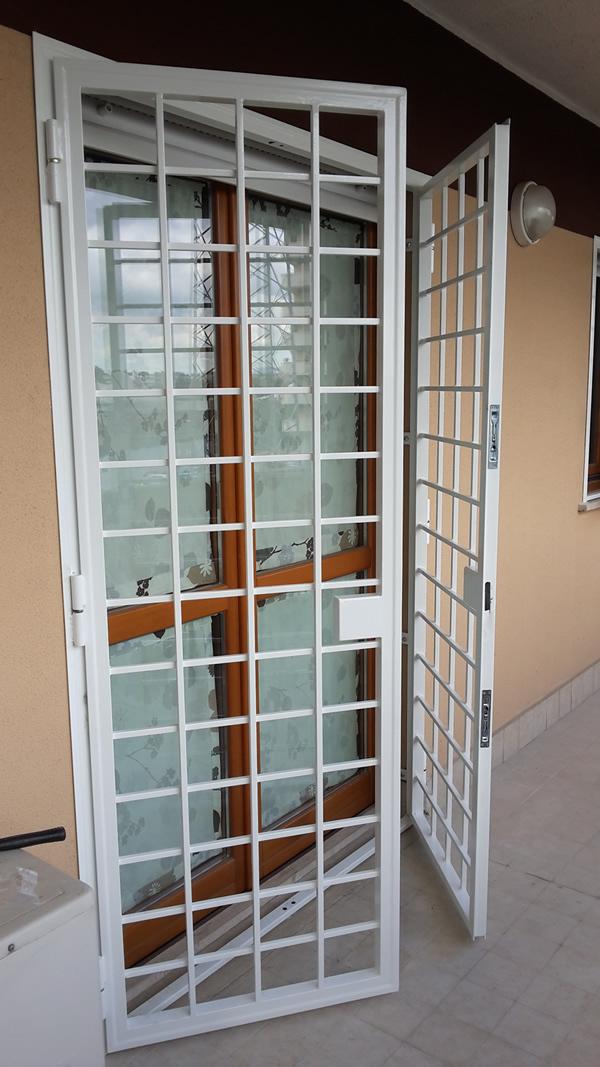 Grate di protezione per porte e finestre eurotendesud - Protezione per finestre ...