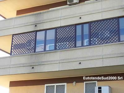 Chiusure per balconi e terrazzi - EurotendeSud 2000 Srl - tende da sole