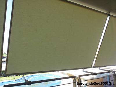 Tende Da Sole Per Balcone : Tende da sole a roma sud tende in pvc trasparente